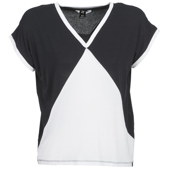 Clothing Women short-sleeved t-shirts Nikita NEWSON Black / White