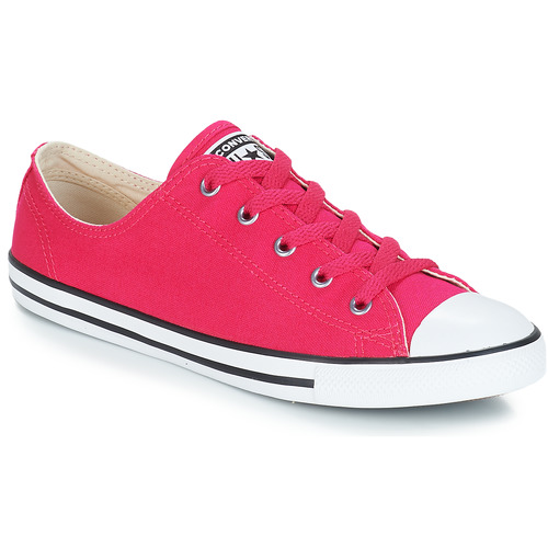 e43136cb467 Converse ALL STAR DAINTY OX Red - Free delivery with Spartoo UK ...