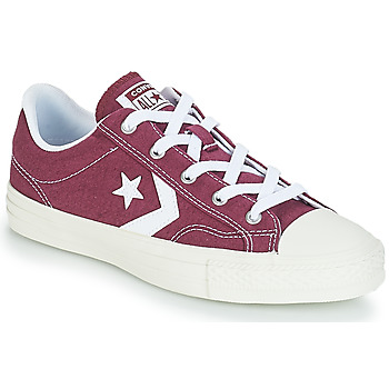 Shoes Low top trainers Converse STAR PLAYER OX Burgandy