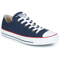 Shoes Low top trainers Converse ALL STAR DENIM OX Blue