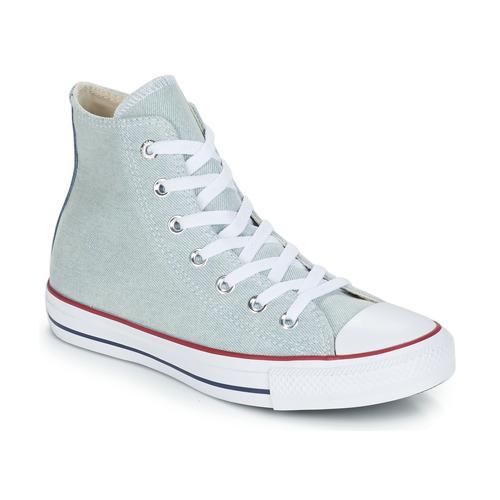 Shoes Hi top trainers Converse ALL STAR DENIM HI Blue