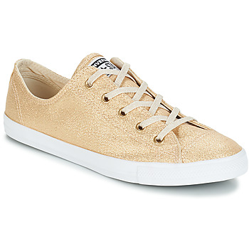 4b173dac93187 Shoes Women Low top trainers Converse ALL STAR DAINTY OX Gold
