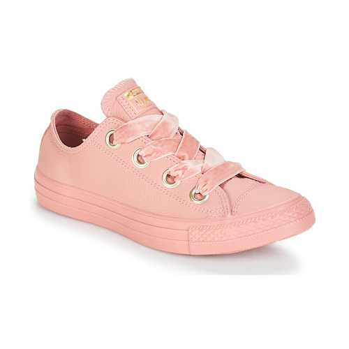 Shoes Women Low top trainers Converse ALL STAR BIG EYELETS OX Pink