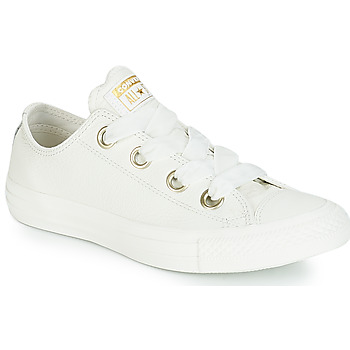 cd691a17ae0db Shoes Women Low top trainers Converse ALL STAR BIG EYELETS OX White
