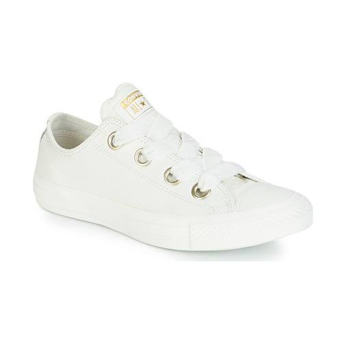 Shoes Women Low top trainers Converse ALL STAR BIG EYELETS OX White