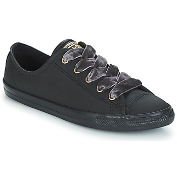 Shoes Women Low top trainers Converse ALL STAR DAINTY OX  black / Gold