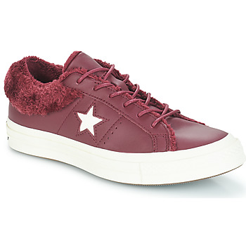 Shoes Women Low top trainers Converse ONE STAR - OX Burgundy