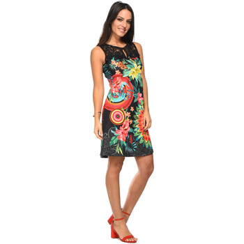 Clothing Women Dresses 101 Idees Dress A0638 Black Woman Spring/Summer Collection 2018 Black