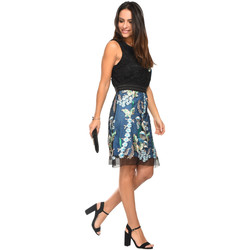 Clothing Women Dresses 101 Idees Dress A1207 Black Woman Spring/Summer Collection 2018 Black