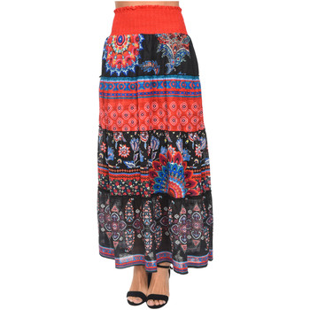 Clothing Women Skirts 101 Idees Skirt W1613 Black Woman Spring/Summer Collection 2018 Black