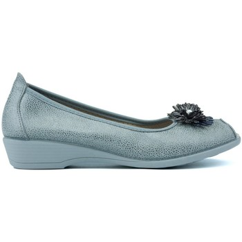 Shoes Women Flat shoes Vulladi Manoletinas  Bubbles 5478 GRIS