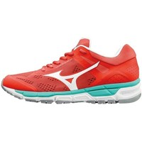 Shoes Women Low top trainers Mizuno Wave Synchro MX 2W Red