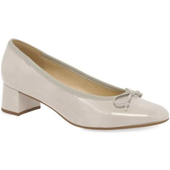 Shoes Women Heels Gabor Belfast Womens Bow Court Shoes grey