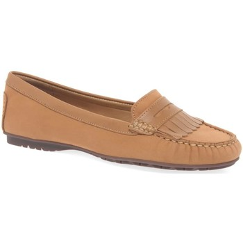Shoes Women Shoes Maria Lya Angie Womens Fringe Moccasins brown