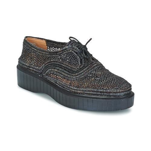 Shoes Women Derby Shoes Robert Clergerie POCOI Black