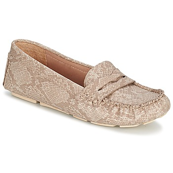 Shoes Women Loafers Esprit NOIR LOAFER Beige
