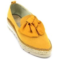 Shoes Women Sandals Aedo 1480 Espadrilles of Woman yellow