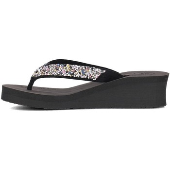 Shoes Women Flip flops Gioseppo 43277 Silver-Black