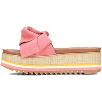 Shoes Women Mules Gioseppo 44059 Beige-Pink