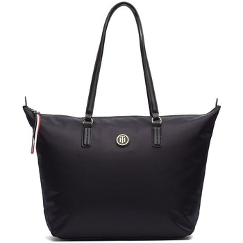 Bags Women Shopping Bags / Baskets Tommy Hilfiger Poppy Tote Black