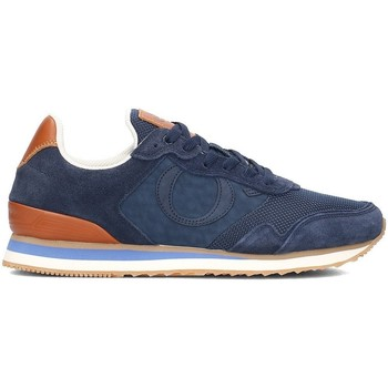 Shoes Men Low top trainers Marc O'Polo 80124363501303890 Brown-Navy blue
