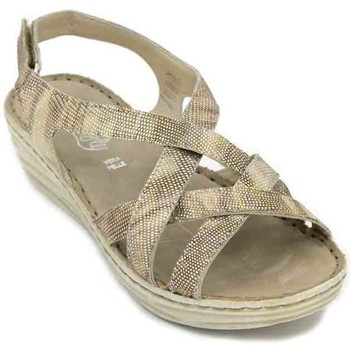 Shoes Women Sandals Walk & Fly 9676-40870 Women's Sandals gold