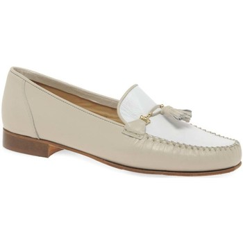 Shoes Women Loafers Charles Clinkard Poppy Womens Moccasins BEIGE