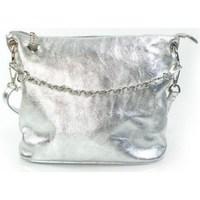 Bags Women Small shoulder bags Vera Pelle LB44ARG Silver