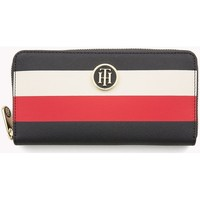 Bags Women Wallets Tommy Hilfiger AW0AW05303904 Navy blue-Red