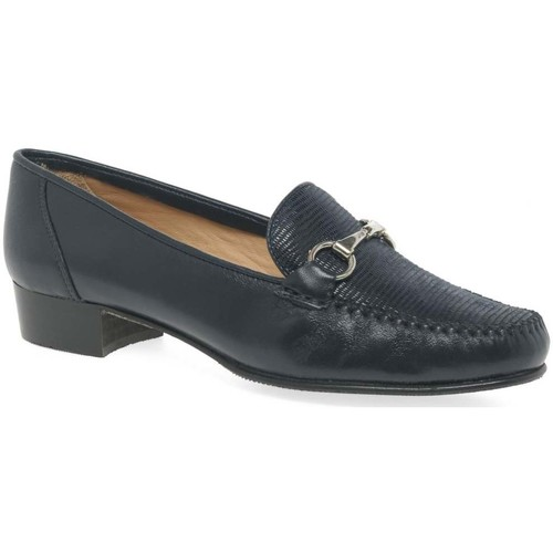 Shoes Women Loafers Charles Clinkard Raise Womens Moccasins blue