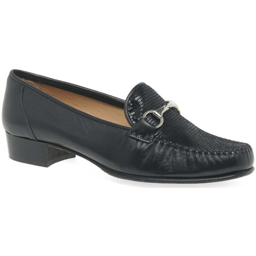 Shoes Women Loafers Charles Clinkard Raise Womens Moccasins black