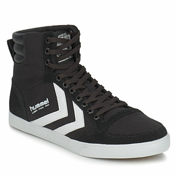 Shoes Hi top trainers Hummel SLIMMER STADIL HIGH Black / White