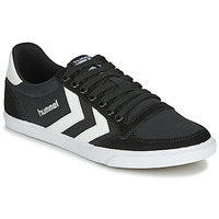Shoes Men Low top trainers Hummel SLIMMER STADIL LOW Black / White