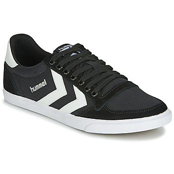 Shoes Low top trainers Hummel SLIMMER STADIL LOW Black / White