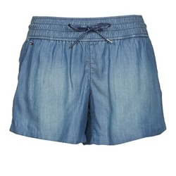 Clothing Women Shorts / Bermudas Tommy Jeans TINA Blue
