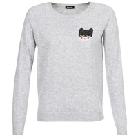 Clothing Women jumpers Kookaï JERMAN Grey