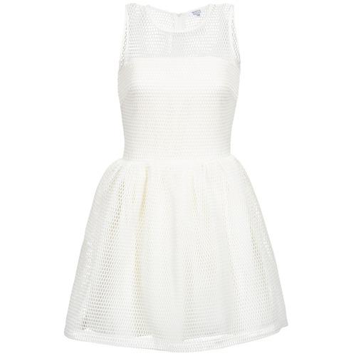 Clothing Women Short Dresses Brigitte Bardot AGNES White