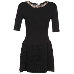 Clothing Women Short Dresses Brigitte Bardot AIMEE Black