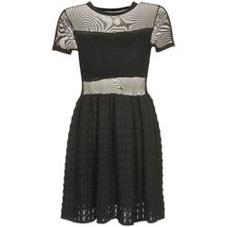 Clothing Women Short Dresses Brigitte Bardot ALBERTINE Black