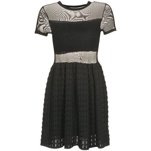 Clothing Women Short Dresses Brigitte Bardot ALBERTINE Black