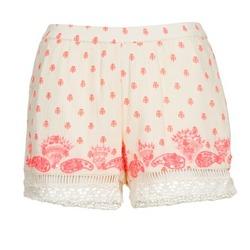 Clothing Women Shorts / Bermudas Brigitte Bardot ANGELINE ECRU