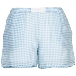 Clothing Women Shorts / Bermudas Brigitte Bardot ANGELIQUE Blue / White
