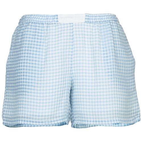 Clothing Women Shorts / Bermudas Brigitte Bardot ANGELIQUE Blue / White