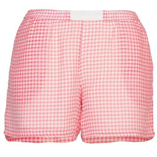 Clothing Women Shorts / Bermudas Brigitte Bardot ANNE Red / White