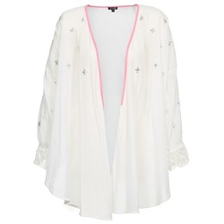 Clothing Women Jackets / Cardigans Brigitte Bardot APOLLINE White