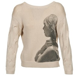 Clothing Women Jumpers Brigitte Bardot ARLETTE Beige