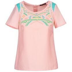 Clothing Women Tops / Blouses Color Block ADRIANA Pink