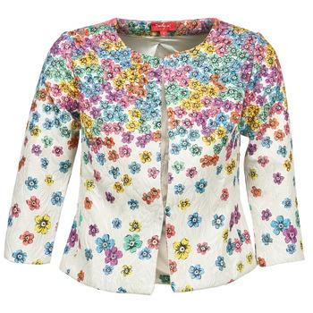 Clothing Women Jackets / Blazers Derhy JOCASTE Ecru