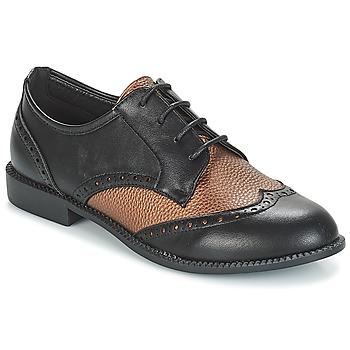Shoes Women Derby Shoes Moony Mood JOURDA Tri / Colour