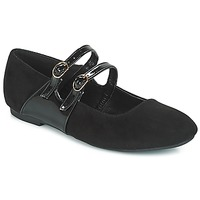 Shoes Women Flat shoes Moony Mood JUYEA Black
